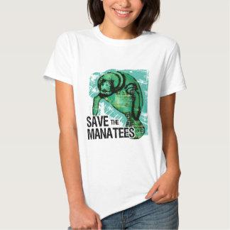 Save the Manatees Tshirts