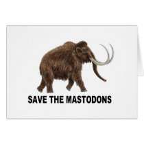 Save the mastodons