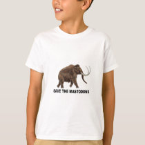 Save the mastodons T-Shirt