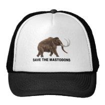 Save the mastodons trucker hat