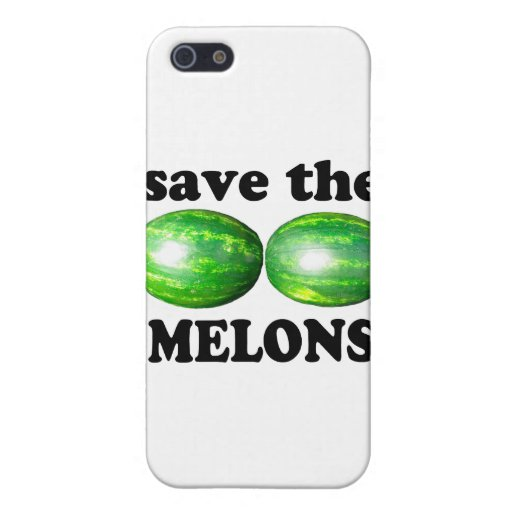 save the melons on white covers for iPhone 5