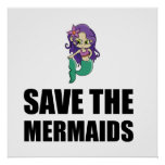 Save The Mermaids Poster