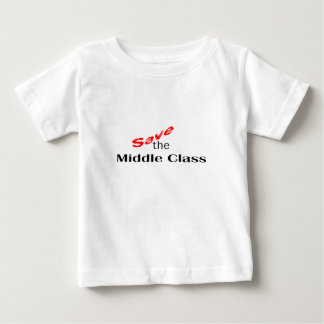 Save The Middle Class - CUART Baby T-Shirt