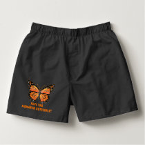 Save the Monarch Butterfly Boxers