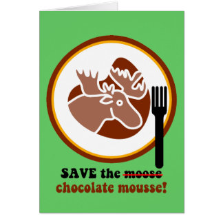 Save the moose card