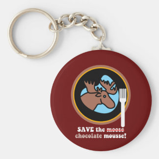 Save the moose keychain