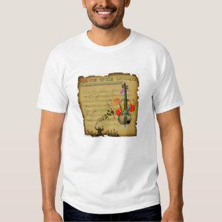 Save The Music Tee Shirt