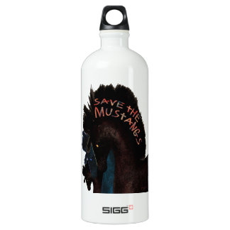 Save the Mustangs and Greetings SIGG Traveler 1.0L Water Bottle