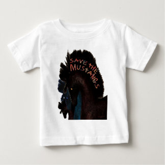Save the Mustangs Gifts and Greetings Baby T-Shirt
