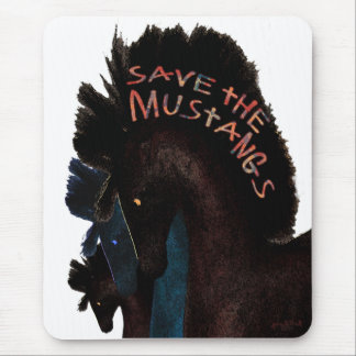 Save the Mustangs Mouse Pad