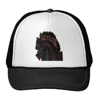 Save the Mustangs Trucker Hat