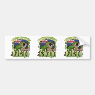 Save the New Zealand Kakapo Bumper Sticker
