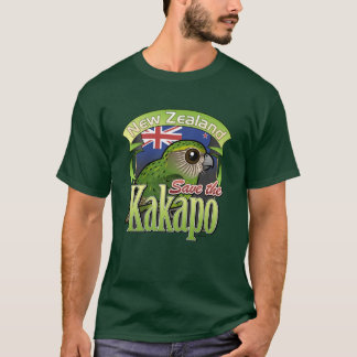Save the New Zealand Kakapo T-Shirt
