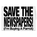 save_the_newspapers_parrot_t felicitacion