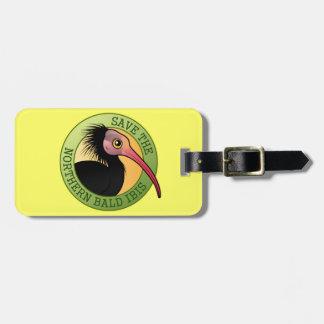 Save the Northern Bald Ibis Bag Tag