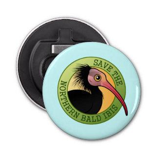 Save the Northern Bald Ibis Bottle Opener