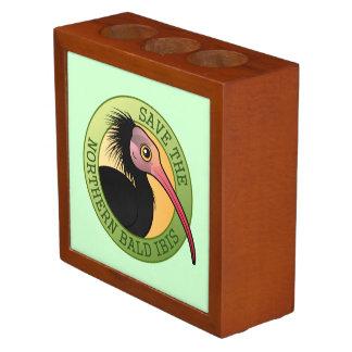 Save the Northern Bald Ibis Desk Organizer