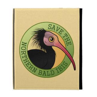 Save the Northern Bald Ibis iPad Folio Cover