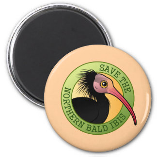 Save the Northern Bald Ibis Magnet
