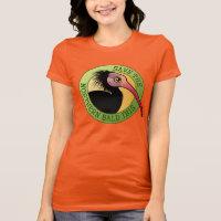 Save the Northern Bald Ibis Women's Bella Jersey T-Shirt