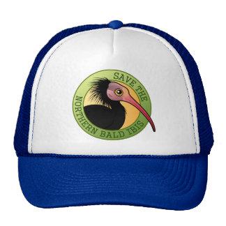 Save the Northern Bald Ibis Trucker Hat
