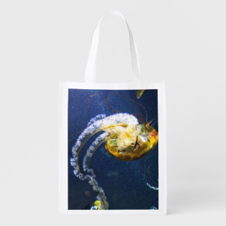 Save the ocean reusable grocery bag