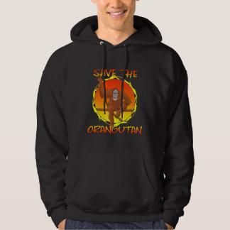 Save the Orangutan Hooded Sweatshirt