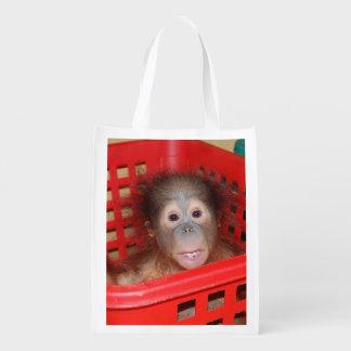 Save the Orangutans Animal Lover Market Tote