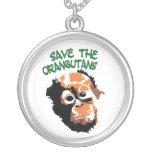 Save the Orangutans art Pendants