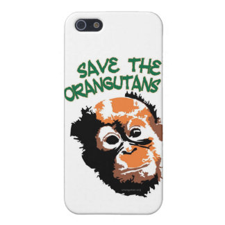 Save the Orangutans Cell Phone Case