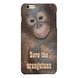 Save the Orangutans Charity Animal Rescue Matte iPhone 6 Plus Case