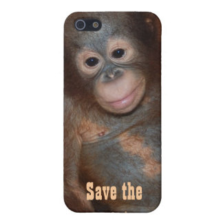 Save the Orangutans Charity Fundraising Cover For iPhone SE/5/5s