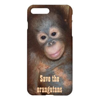 Save the Orangutans Charity Fundraising iPhone 7 Plus Case