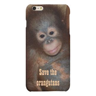 Save the Orangutans Charity Fundraising Matte iPhone 6 Plus Case