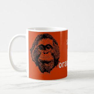 Save the Orangutans Official Logo Coffee Mugs