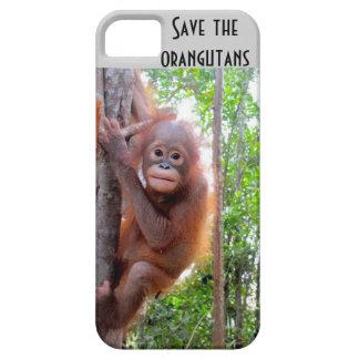 Save the Orangutans orphan Uttuh iPhone SE/5/5s Case