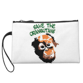 Save the Orangutans Wristlet