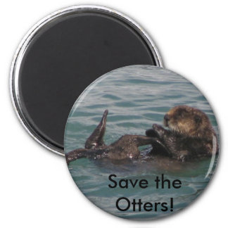 Save the Otters Magnet