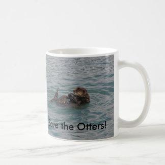 Save the Otters Mug