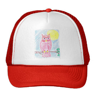 Save The Owls! Trucker Hat