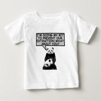 Save the Panda Baby T-Shirt