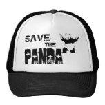Save the Panda Boné Trucker Gorros Bordados