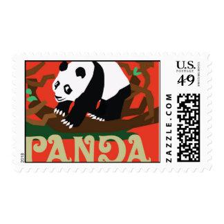 Save the Panda Postage Stamp