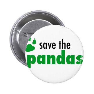 Save The Pandas 2 Inch Round Button
