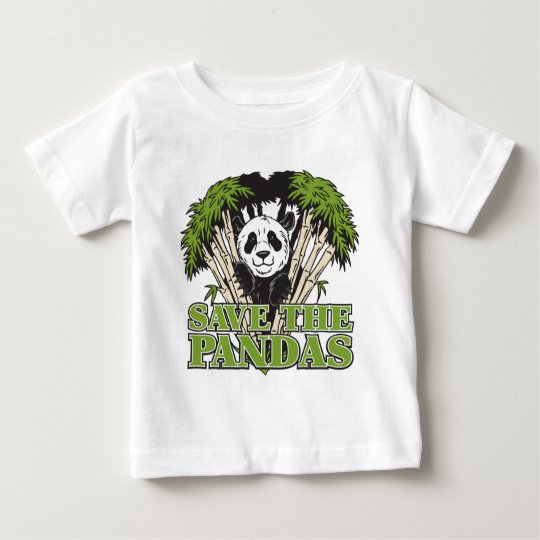 Save the Pandas Baby T-Shirt