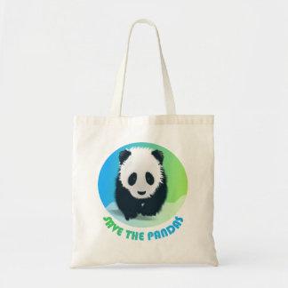 Save the Pandas Bag