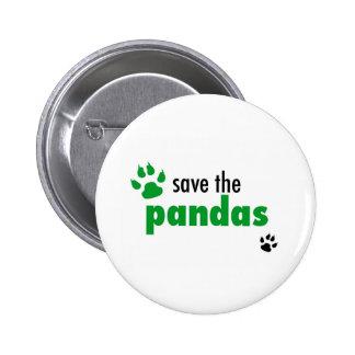 Save The Pandas Button