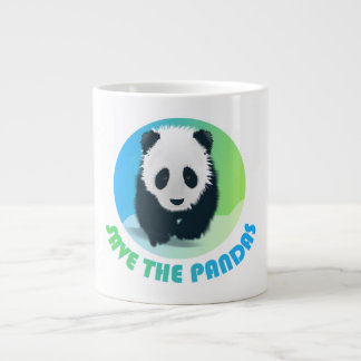 Save the Pandas Jumbo Mug