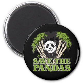 Save the Pandas Magnets