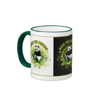 Save the Pandas zazzle_mug